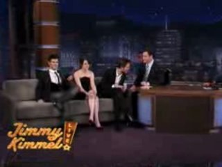 The Cast of New Moon on Jimmy Kimmel Live 4 (Nov 2009)