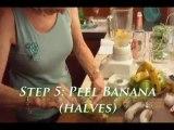 How To Peel A Frozen Banana: Peeling Bananas From  Freezer