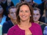 Ségolène Royal au Grand Journal de Canal+