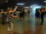 cours de danse africaine octobre 2009 avec BIJU