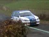 Rallye du cantal 106 S16 N2 PRAT / Molines ES1