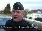 Des contrôles de vitesse avec les gendarmes