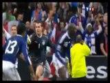 La main de Thierry Henry pendant Irlande - France - Qualif.