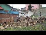BALLICA KÖYÜ 2009 ELMA TOPLAMA VE ODUN HAZIRLAMA