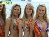 Les Miss Belgique en bikini à Phuket