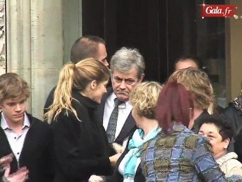 Les obsèques de Jocelyn Quivrin à Paris