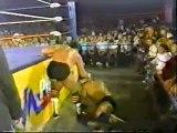 Arn Anderson  Tully Blanchard vs Mike Rotundo  R Santana