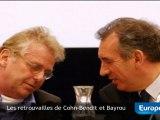 Les retrouvailles de Cohn-Bendit et Bayrou