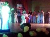 premiere demonstration de capoeira