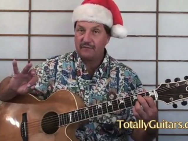 Silver Bells Guitar Lesson Christmas Songs
