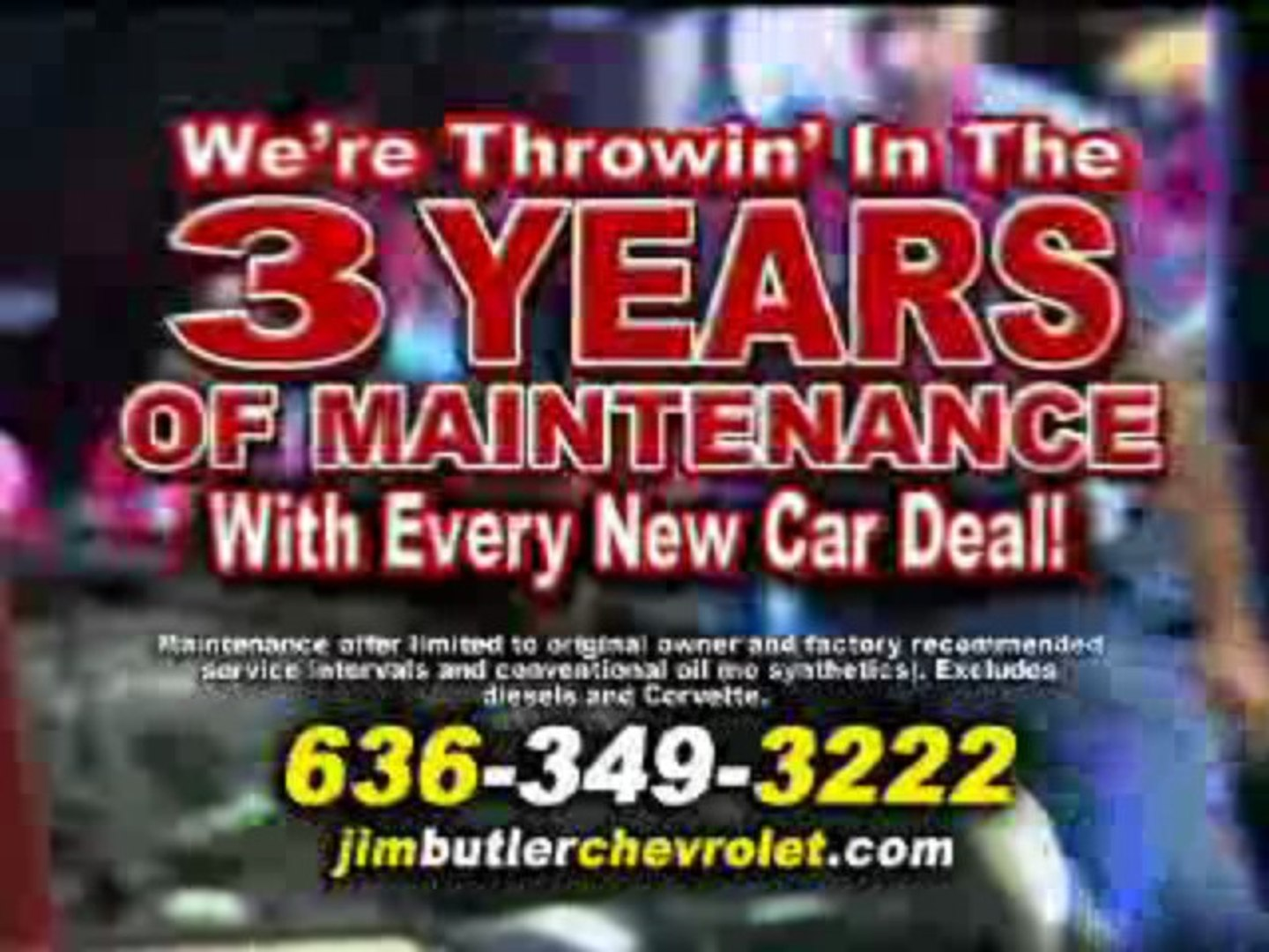 Jim Butler Chevy Competition Crusher Sales Event