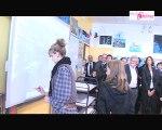 Yvelines : inauguration d'un collège numérique aux Mureaux