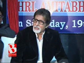 Big B's Phone flooded with B'day messages