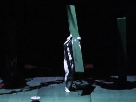 Utaki, a solo performance by butho dancer Magy Ganiko