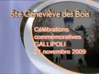 "Office des morts à Ste Geneviève des Bois ""Gallipoli"""