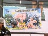 Les Faucheurs d'OGM disent non au fichage ADN! (Angers)