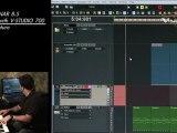Record Keyboard using Rapture & V-Studio 700
