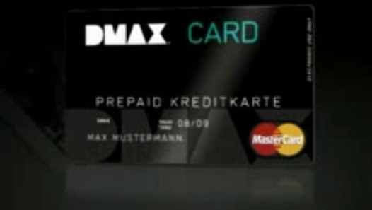 Dmax Prepaid Kreditkarte