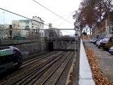 2 BB 27000 Fret+3  trains TGV+ 8 trains TER à Lyon le 28/11/09
