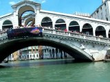 Italia Wenecja Kanał Grande  Ponte di Rialto VII 2009