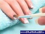 Manucure, pedicure kit complet uv nails 2