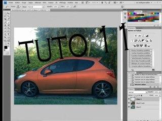 Visionnez les Cours Vidéo de Transformer sa voiture avec Photoshop