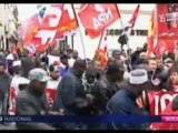 FR3-Manifestation contre une immigration jetable à Paris