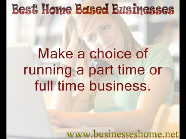 Best Home Based Businesses