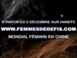 Mondial de handball féminin 2009 (bande annonce)