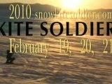 Kite Soldier: Idaho Snowkiting at it's best