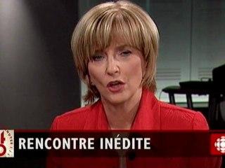 Rencontre entre Monique Lépine et Sylvie Haviernick