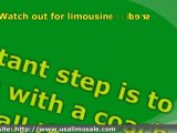 Buying a limousine, 15 free money saving tips, Limousine Buy