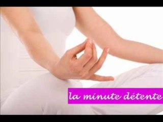 La minute détente - respirer en pleine conscience