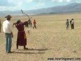 MONGOLIE la fête du NAADAM Steppe en pays nomade