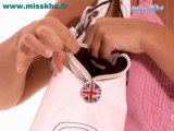 Accroche sac + Accroche clés Miss Kha