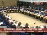 SEANCE,Débat sur les 4 projets de loi relatifs à la réforme des collectivités locales