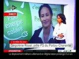 Ségolène royal 03/12/2009 sur I télé