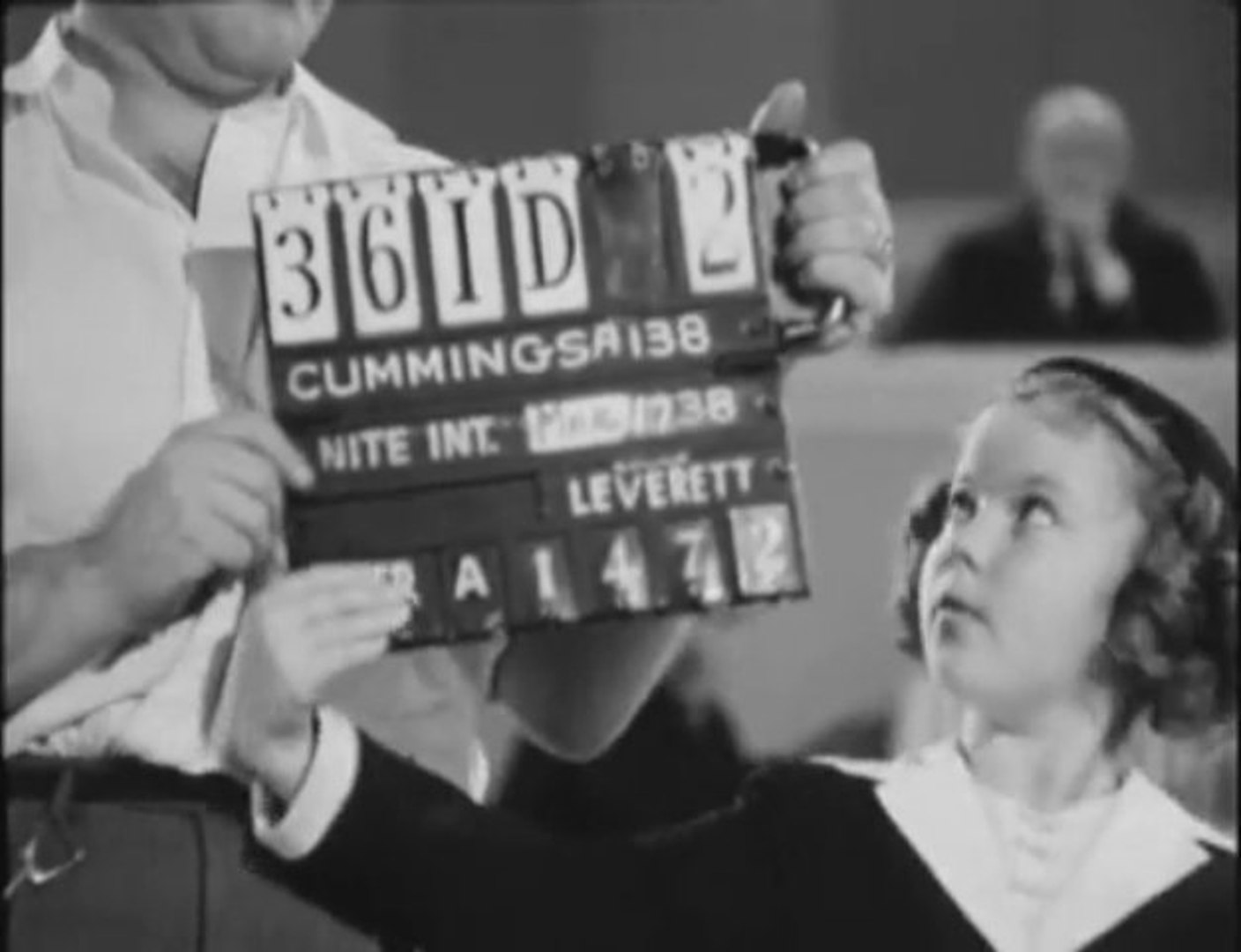 Shirley Temple Jimmy Durante Outtakes Little Miss Broadway