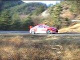 Essais Monte Carlo Gronholm 307 WRC decembre 2004