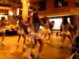 les flammes du roussillon telethon perpignan 2009