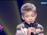 """Première prestation de Mattéo à l'école des stars, """"Ta main"""" de Grégoire !"""