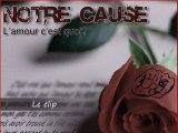 """Notre Cause clip """" l amour c est quoi ? """"  ( artiste présent sur la compilation )"""