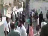 Des colons israeliens attaquent des palestiniens