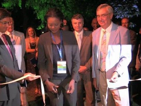 Rama Yade aux 6e Jeux de la Francophonie
