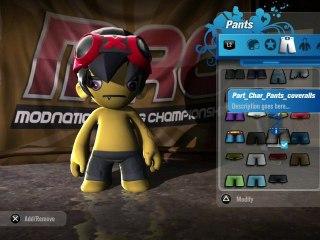ModNation Racers, Character Customisation