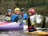 Canoe Kayak Carquefou / Nort : apprentissage en eaux vives