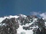 Mont-Blanc Route des Aiguilles Grises vue du Gonella