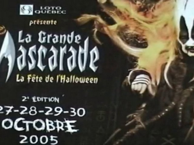 halloween au Quebec, Festival de la Grande Mascarade
