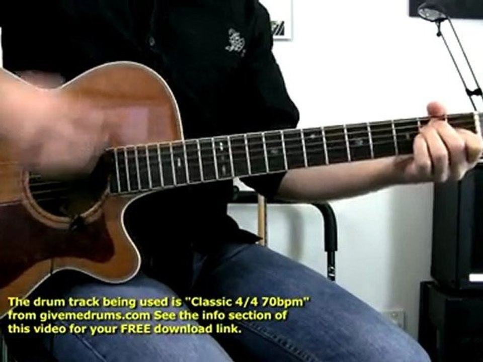Cats In The Cradle By Cat Stevens Guitar Lesson Visual