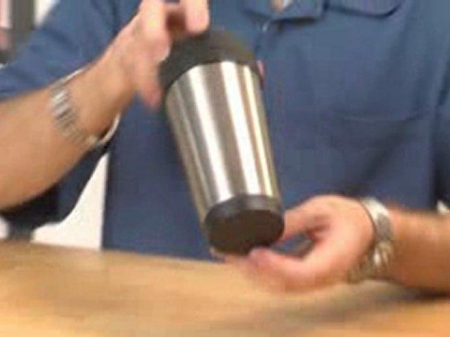 Very Nice! 16 Ounce Stainless Steel Travel Mugs